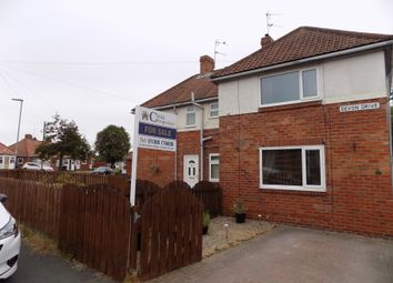 Thumbnail 2 bed semi-detached house for sale in Devon Drive, Willington, Crook