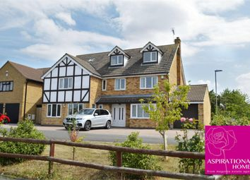 Thumbnail 7 bed detached house for sale in Restormel Close, Rushden, Northamptonshire