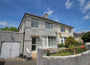 Thumbnail 3 bed semi-detached house for sale in Peeks Avenue, Plymstock, Plymouth, Devon