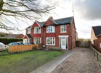 4 bed semi-detached house for sale in Scallow Lane, Scotter Road, Messingham, Scunthorpe DN17