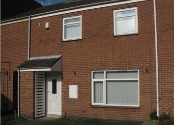 Thumbnail 2 bed terraced house to rent in Aberford Avenue, Whitemoor, Nottingham