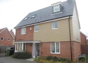 Thumbnail 5 bed property to rent in Linnett Road, Queens Hills, Norwich