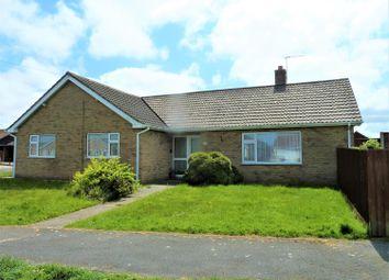 Thumbnail 3 bed detached bungalow for sale in Marine Avenue, Sutton On Sea, Lincs.