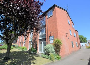 Thumbnail 1 bed flat for sale in Ashleigh Gardens, West End, Leicester