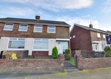 Thumbnail 2 bed semi-detached house for sale in Rutherglen Road, Redhouse, Sunderland
