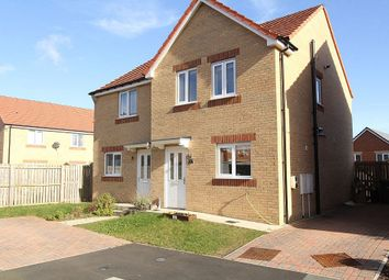 Thumbnail 3 bed semi-detached house for sale in Viscount Close, Stanley, Durham
