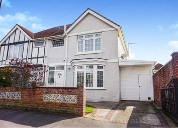 Thumbnail 3 bed semi-detached house for sale in Westfield Road, Southampton