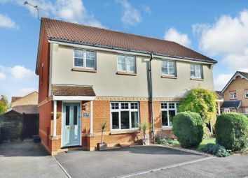 Thumbnail 3 bedroom semi-detached house for sale in Terrier Close, Hedge End, Southampton
