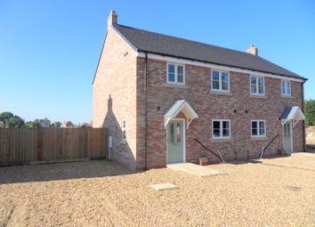 Thumbnail 3 bed semi-detached house for sale in Sutton Road, Walpole Cross Keys, Kings Lynn, Norfolk