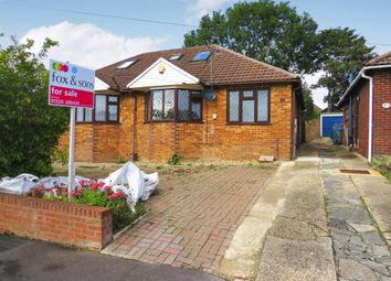 Thumbnail 2 bed semi-detached bungalow for sale in Blackbrook Road, Fareham