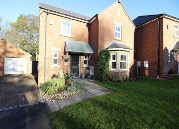 Thumbnail 4 bed detached house for sale in Willow Drive, Cheddleton, Stafffordshire