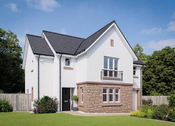 "Thumbnail 4 bed detached house for sale in ""The Cleland"" at Lanfine Drive, Kirkintilloch, Glasgow"