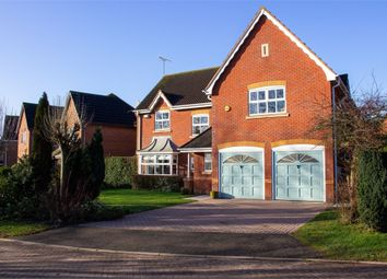 Thumbnail 4 bed detached house for sale in Woodcock Close, Gilmorton, Lutterworth