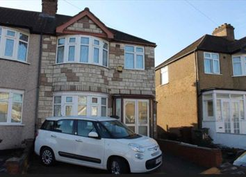 Thumbnail 3 bed semi-detached house to rent in Carmelite Road, Harrow, London