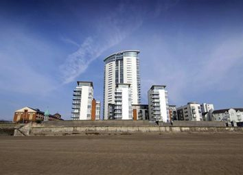 Thumbnail 1 bed flat for sale in Meridian Tower, Trawler Road, Swansea