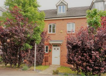 Thumbnail 3 bed town house for sale in Burberry Avenue, Hucknall