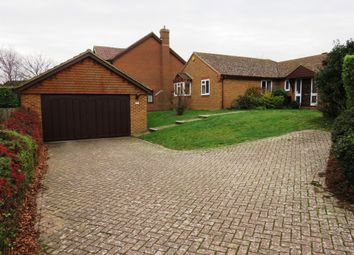 Thumbnail 4 bed detached bungalow for sale in Grand Avenue, Seaford