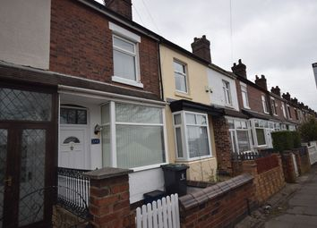 Thumbnail 2 bedroom terraced house to rent in Whieldon Road, Mount Pleasant, Stoke-On-Trent