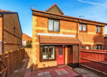 Thumbnail 1 bed property for sale in Hawthorne Crescent, West Drayton, Middlesex