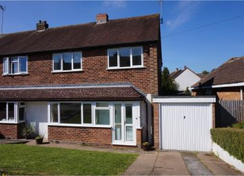 Thumbnail 3 bed semi-detached house for sale in Wordsworth Avenue, Redditch