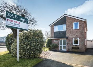 Thumbnail 3 bed detached house for sale in Blackthorn Road, Stratford-Upon-Avon