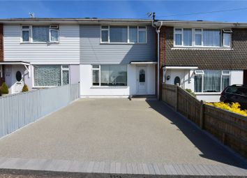 Thumbnail 3 bed terraced house for sale in Halewick Lane, Sompting, West Sussex
