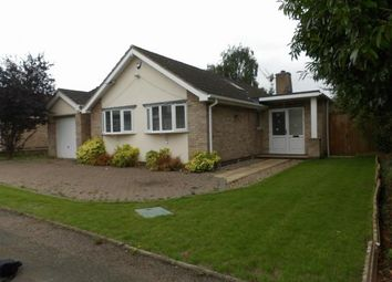 Thumbnail 4 bed bungalow for sale in Silverwood Close, Leicester