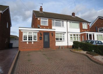 Thumbnail 3 bed semi-detached house for sale in Ashleigh Drive, Wilnecote, Tamworth