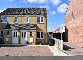 Thumbnail 2 bed semi-detached house for sale in Hunton Road, Oulton, Lowestoft