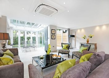 Thumbnail 4 bed town house to rent in St. Johns Wood Park, London