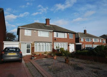 Thumbnail 3 bed semi-detached house for sale in Hepple Way, Gosforth, Newcastle Upon Tyne