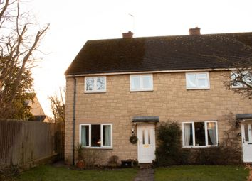 Thumbnail 3 bed end terrace house for sale in Woodlands, Standlake, Witney