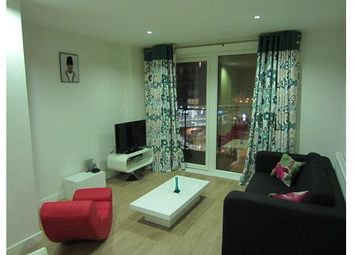 Thumbnail 1 bed flat to rent in Hudson Building, 1 Deals Gateway, London