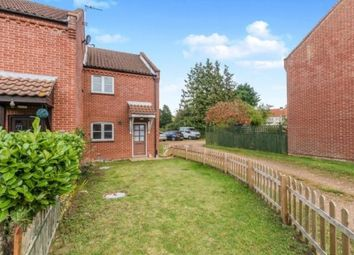 Thumbnail 2 bed end terrace house to rent in Hares Close, Fakenham