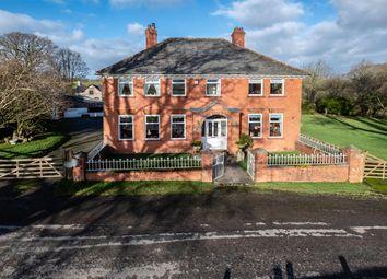 Thumbnail 5 bed farmhouse for sale in Lower Cefn, Penarth, Crossgates, Llandrindod Wells