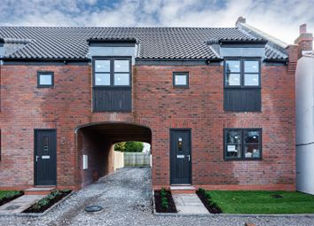 Thumbnail 3 bed end terrace house for sale in Cleeton Lane, Skipsea, Driffield