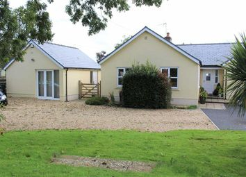 Thumbnail 4 bed detached bungalow for sale in Freshwater East Road, Lamphey, Pembroke