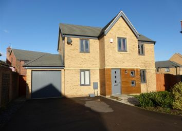 Thumbnail 4 bedroom detached house for sale in Bayleaf Avenue, Hampton Vale, Peterborough