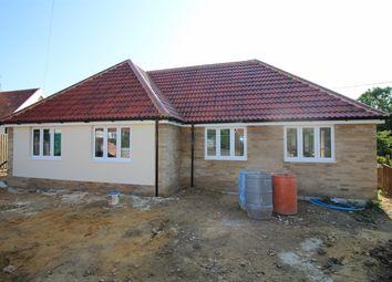 Thumbnail 3 bedroom semi-detached bungalow for sale in Plot 2, Hamilton Close, South Walsham, Norwich