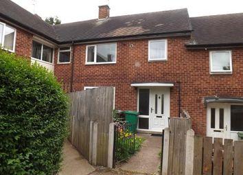 Thumbnail 3 bed terraced house for sale in Leverton Green, Nottingham, Nottinghamshire
