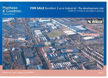 Thumbnail Land to let in Edwards Lane, Liverpool