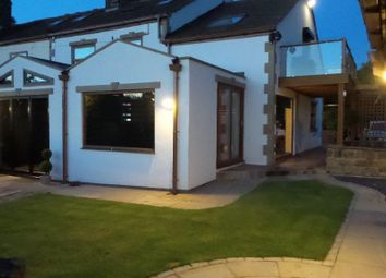Thumbnail 5 bed cottage for sale in Wood Lane, Chapelthorpe, Wakefield