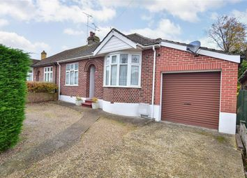 Thumbnail 3 bed semi-detached bungalow for sale in Marshall Road, Rainham, Gillingham, Kent