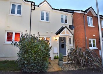 Thumbnail 3 bed terraced house for sale in Saxon Close, Crediton, Devon