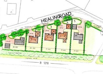 Thumbnail Land for sale in Three Building Plots, Healing Road, Stallingborough, Grimsby
