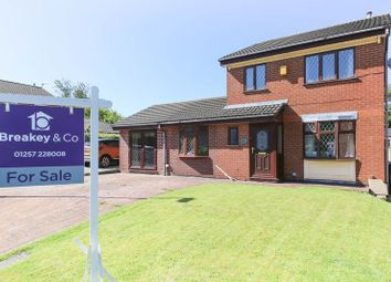 Thumbnail 4 bedroom detached house for sale in Tenter Drive, Standish, Wigan
