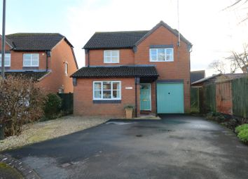 Thumbnail 4 bed detached house for sale in Blenheim Drive, Newent