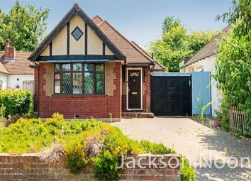 Thumbnail 2 bed detached bungalow for sale in Highfield Drive, Ewell, Epsom