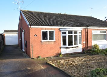 Thumbnail 2 bedroom bungalow for sale in Blackthorn Close, Scunthorpe