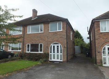 Thumbnail 3 bed semi-detached house to rent in Vincent Road, Sutton Coldfield